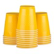 Yellow Plastic Cups - 1