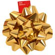 Gold Gift Bows - 1