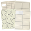 Ivory Labels - 1