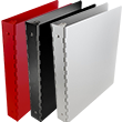 Aluminum Three Ring Binders - 1