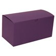 9 x 4 1/2 x 4 1/2 Purple Kraft Box