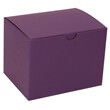 6 x 4 1/2 x 4 1/2 Purple Kraft Box
