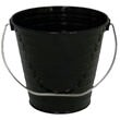 Black Metal Buckets - 1