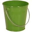 Green Metal Buckets