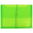 Green Plastic Envelopes with Elastic Closure - 1