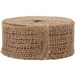 Brown Burlap Ribbon