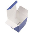2 x 2 x 2 Royal Blue Glossy Gift Box - 1