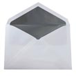 Silver & Grey 5 3/4 x 8 Envelopes - 1