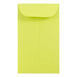 Green #6 Coin Envelopes - 3 3/8 x 6 - 1