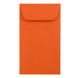 Orange #6 Coin Envelopes - 3 3/8 x 6 - 1