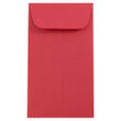 Red #6 Coin Envelopes - 3 3/8 x 6 - 1