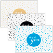 Polka Dot Thank You Card Sets - 1