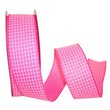 Pink Saddle Linen Ribbon - 1