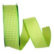 Green Saddle Linen Ribbon - 1