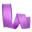 Purple Saddle Linen Ribbon