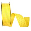 Yellow Saddle Linen Ribbon