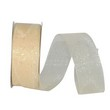 Ivory Sheer Glitter Ribbon