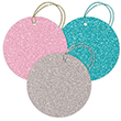 Glitter Gift Tags - 1