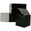4 1/2 x 4 1/2 x 6 Black Semi Glossy Box