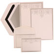 Embossed Wedding Invitations with Jewels