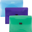 Plastic Portfolio with Center Buckle - 1