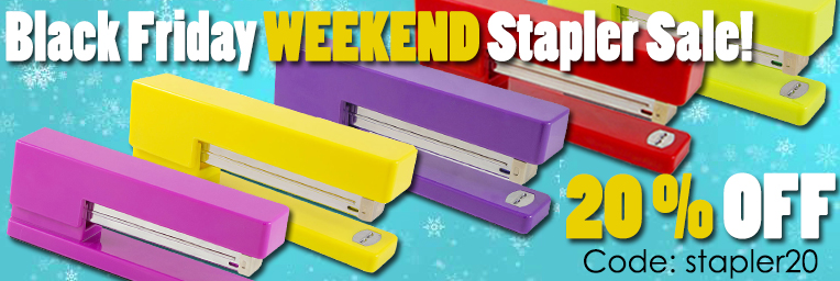 Black Friday Staplers - Weekend Sale