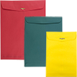 Colored Clasp & Open End Envelopes - 1