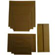 Earth Brown Translucent Envelopes & Paper