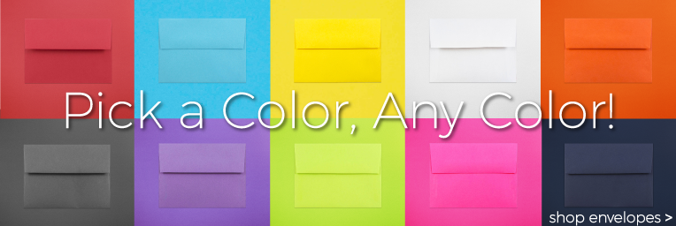 Envelopes By Color