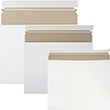 White Expandable Photo Mailers - 1