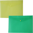 Plastic Frosted Snap Envelopes - 1