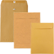 Manila Envelopes - Clasp & Open End - 1