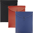 Leather Button & String Envelopes - 1