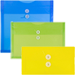 Original Plastic Button & String Envelopes - 1