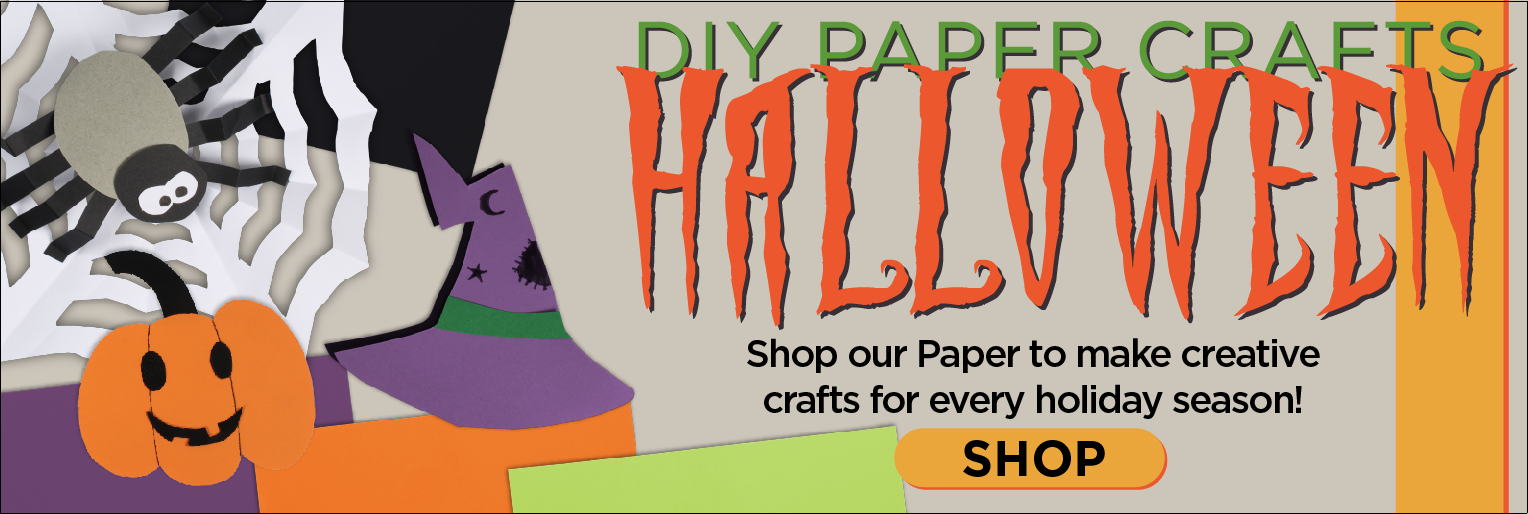 Paper for Halloween Crafts
