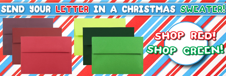Red and Green Envelopes Holiday