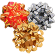 Small Gift Bows - 3.5 Inch Diameter