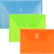 Plastic Document Holders w/ VELCRO® Brand Closure
