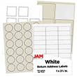White & Ivory Labels - 1